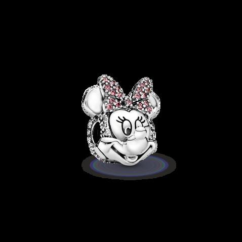 Clip Nœud en pavé rose MinnieMouse de Disney