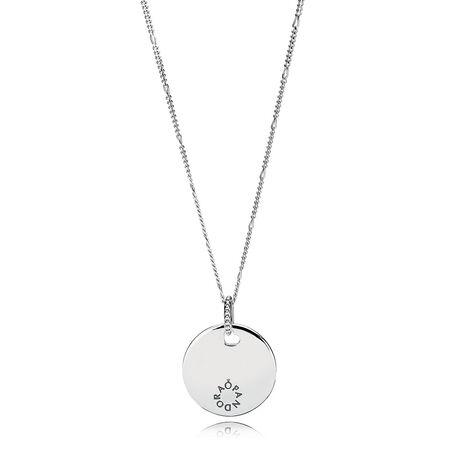 Tribute Pendant Necklace