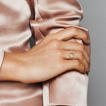 Bague avec auréole Cœurs de PANDORA, PANDORAShineMC