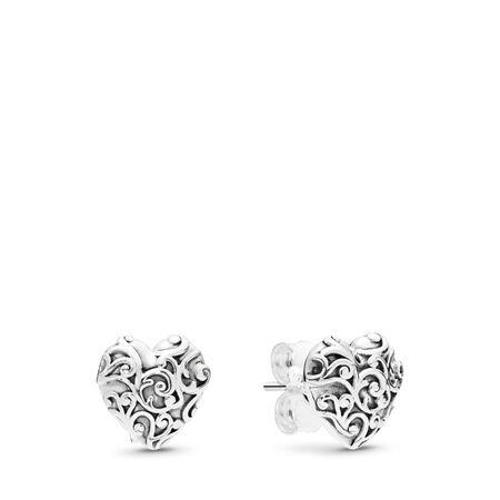 Boucles d'oreilles Cœurs royaux