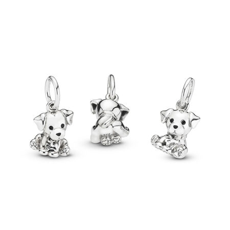Labrador Puppy Dangle Charm