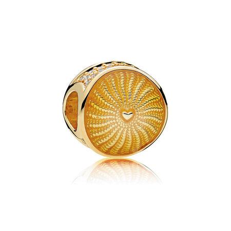 Limited Edition Rays of Sunshine Charm, PANDORA Shine™