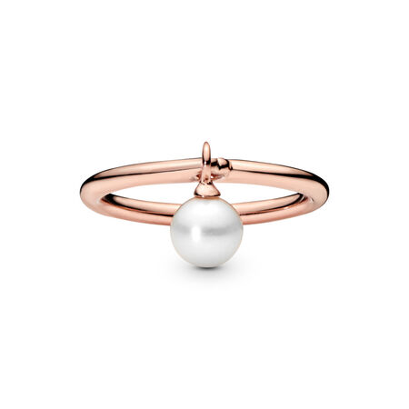 Bague Perle contemporaine, PANDORA Rose