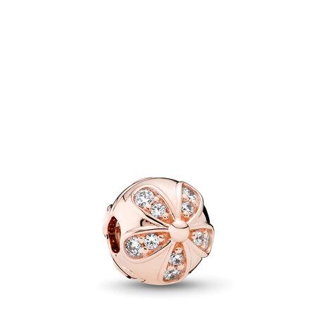 Dazzling Daisies, PANDORA Rose™ & Clear CZ, PANDORA Rose, Cubic Zirconia - PANDORA - #781493CZ