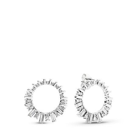 Glacial Beauty Hoop Earrings