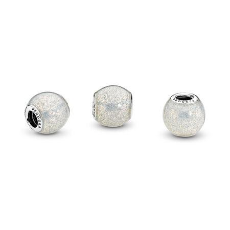 Glitter Ball, Silvery Glitter Enamel