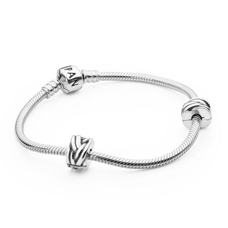 Bracelet emblématique PANDORA à fermoir