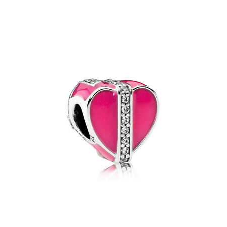 Gifts of Love, Magenta Enamel & Clear CZ