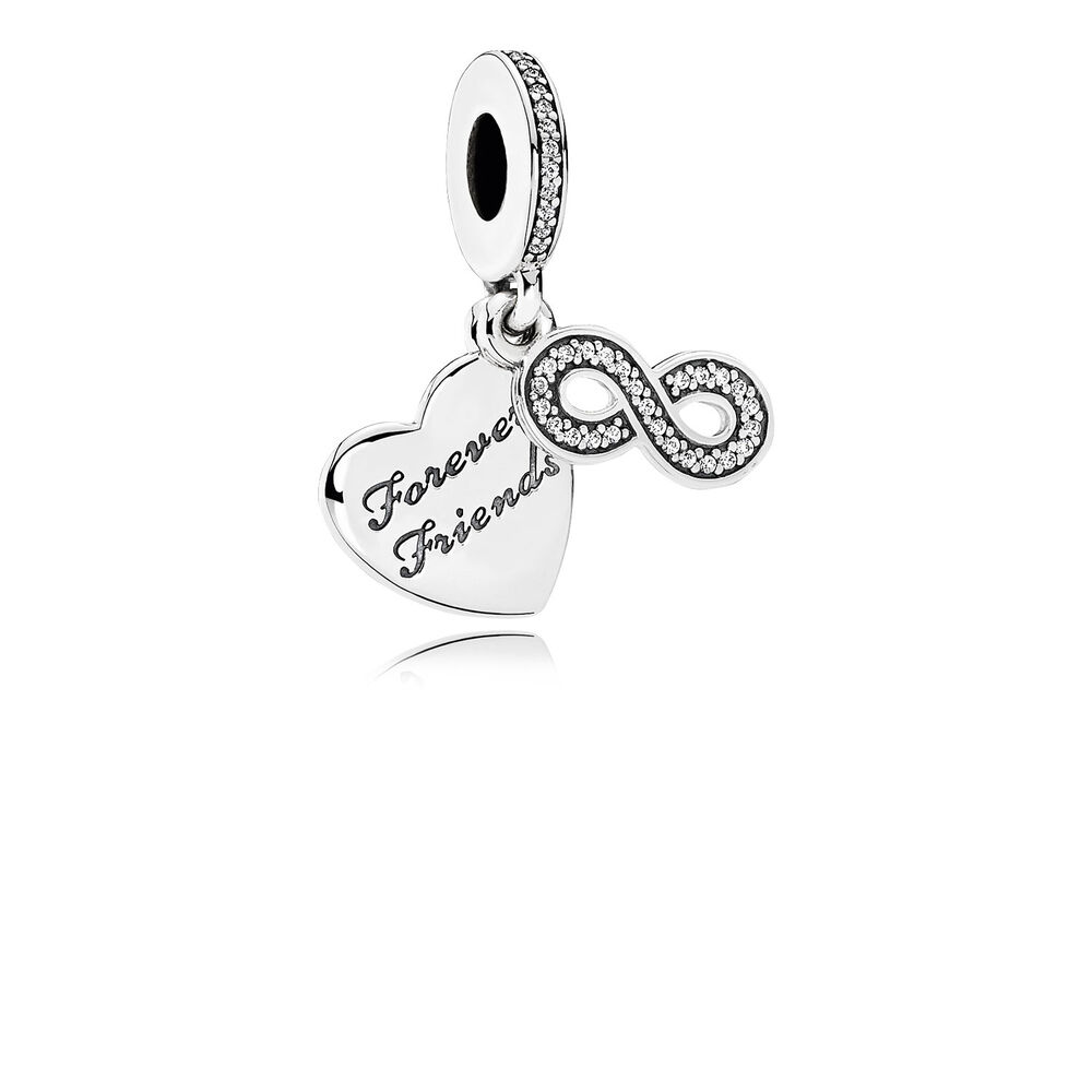 silver pandora star charm lockets hut the jewel friendship pendant
