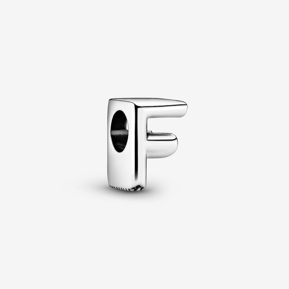 Charm Alphabet Lettre F | Argent | Pandora Canada