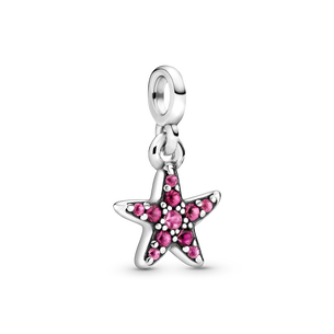 Breloque Mon étoile de mer rose
