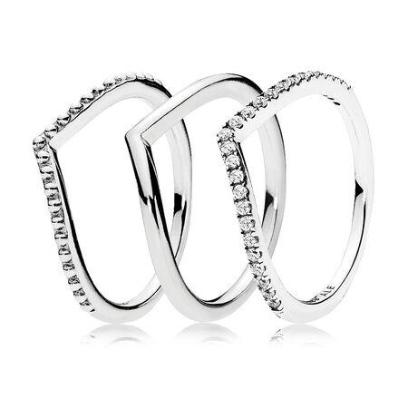 6eae61864 Wishbone Ring Stack