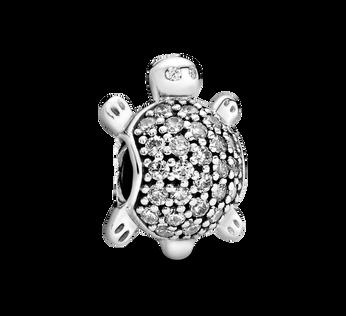 PavéSea Turtle Charm