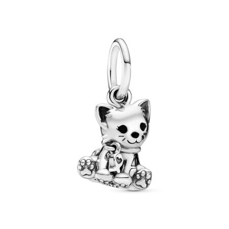 Charm-pendentif Gentil chaton
