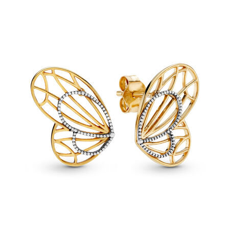 Limited Edition Openwork Butterflies Earrings