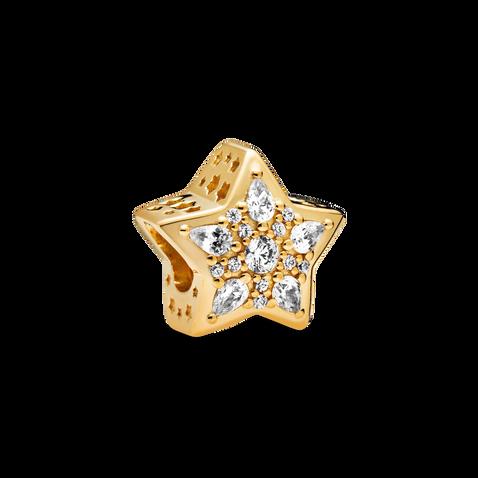 Charm en forme d'étoile de la collection Céleste