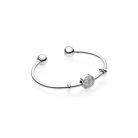 Wintry Holiday Open Bangle Gift Set