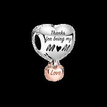 Charm Cœur «Love You Mum»