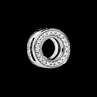 Clip Cercle en pavé