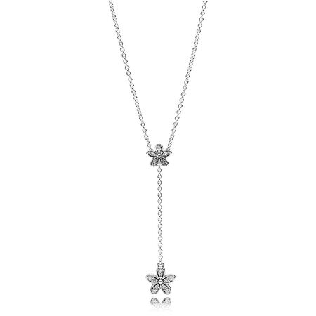 Dazzling Daisies, Clear CZ