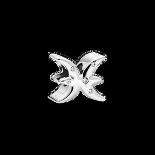 Charm du zodiaque scintillant du Poisson