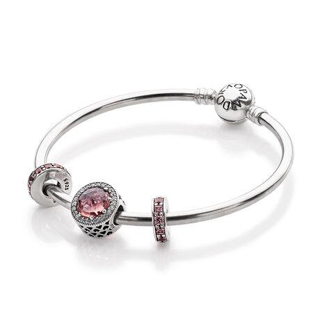 Brilliant in Blush Bracelet Set