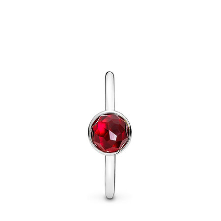 July Droplet, Synthetic Ruby