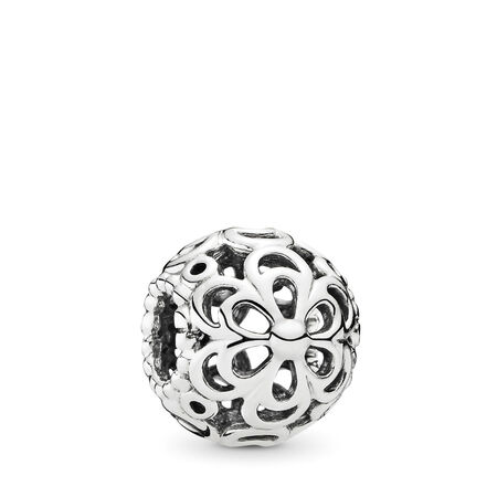 Picking Daisies Flowers, Sterling silver - PANDORA - #790965