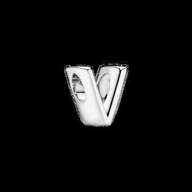 Letter V Alphabet Charm