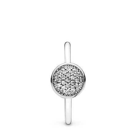 Dazzling Droplet, Clear CZ, Sterling silver, Cubic Zirconia - PANDORA - #191009CZ