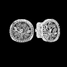 Sparkling Family Tree Stud Earrings