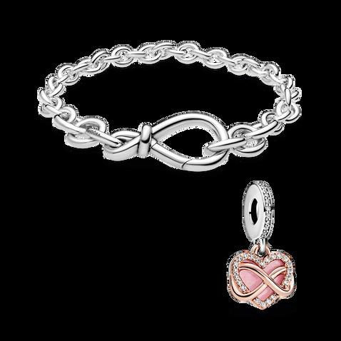 Forever & Always Bracelet Set