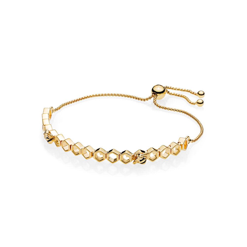 79cbd498f826 Bracelet édition limitée abeille PANDORA ShineMC