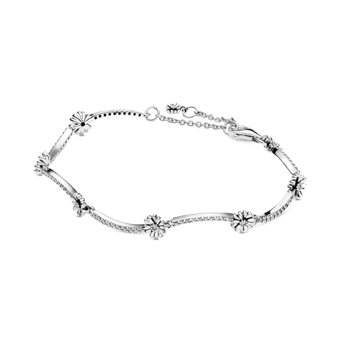 Bracelet scintillant Marguerite