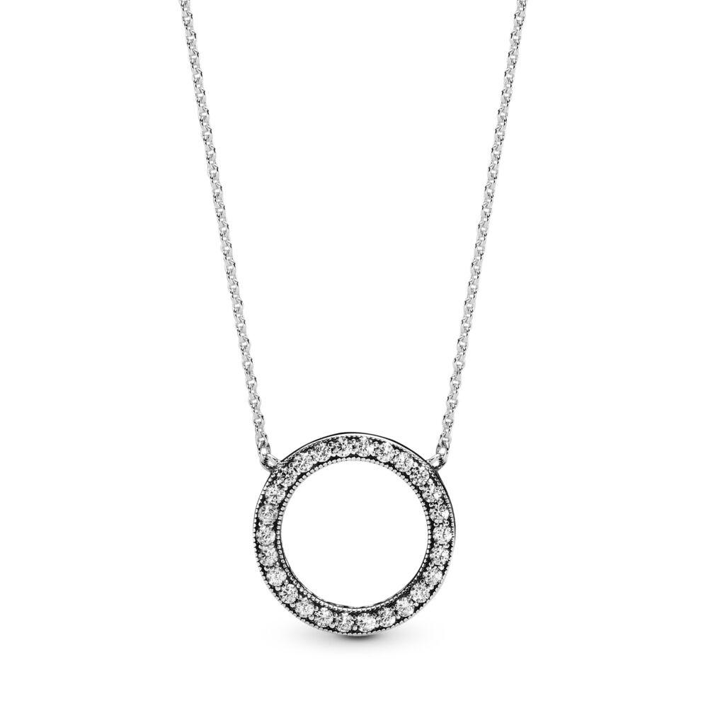 124baa1558a57 Circle of Sparkle Necklace