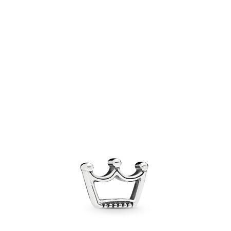 Crown Petite Charm, Sterling silver - PANDORA - #797043