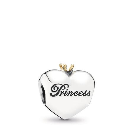 Cœur de princesse, cz rose poudré