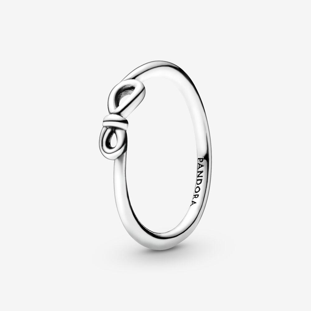 Bague Nœud infini | Argent sterling | Pandora Canada