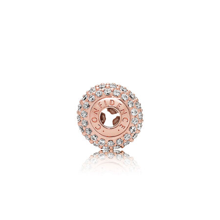 CONFIDENCE, PANDORA Rose™ & Clear CZ