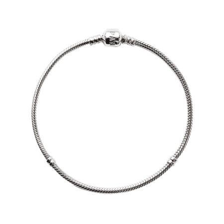 Bracelet-chaînette mille-maillons Moments, Argent sterling, Aucun autre matériel, Aucune couleur, Aucune pierre - PANDORA - #590702HV