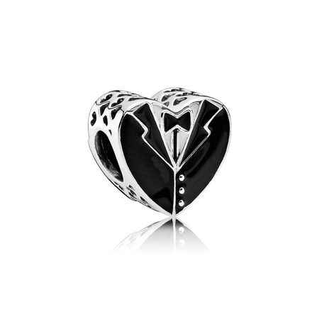 Our Special Day, Black & White Enamel
