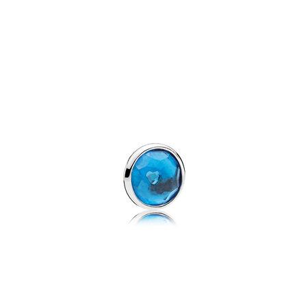 December Droplet Petite, London Blue Crystal