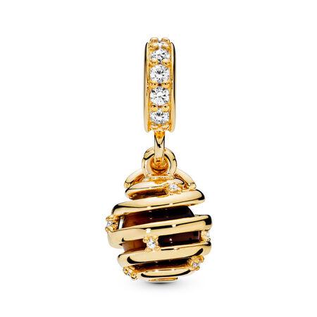 Sweet As Honey Charm, PANDORA Shine™ & Clear CZ