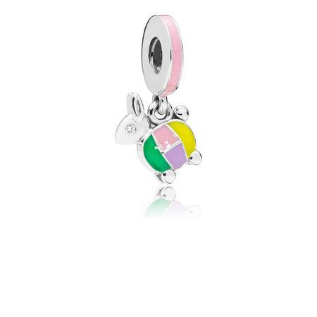 Rabbit Lantern Dangle Charm