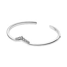 Tiara Wishbone Open Bangle