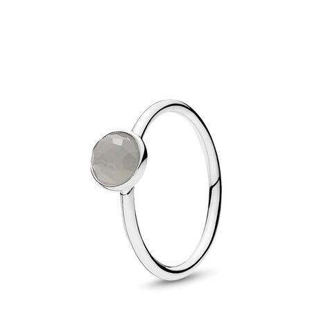 June Droplet, Grey Moonstone