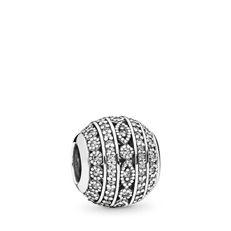 Glittering Shapes, Clear CZ, Sterling silver, Cubic Zirconia - PANDORA - #796243CZ
