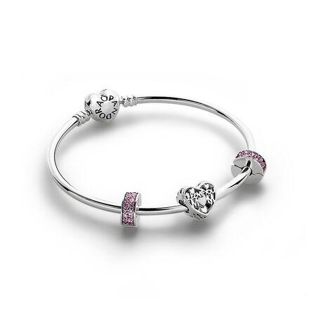 I Love You Mom Bracelet Set
