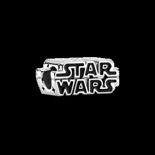Charm Logo Star Wars en argent en 3D