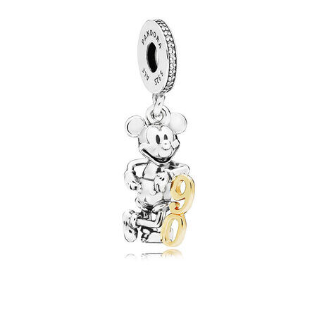 Disney, Limited Edition Mickey's 90th Anniversary Dangle Charm